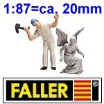 1:87 Figuren - Faller made by Preiser