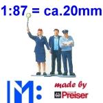 1:87 Figuren - Merten made by Preiser