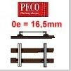 Peco Spur 0e Schmalspurgleis Code 100