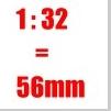 Preiser Figuren 1:32 - 56mm