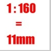 Modellfiguren 1:160 - Spur N - 11mm