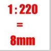 Preiser Figuren 1:220 - 8mm