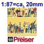 Preiser- Figuren 1:87 - Supersets