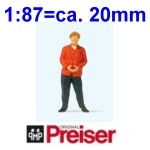 Preiser Figuren - 1:87 Einzelfiguren