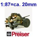 Preiser Figuren - 1:87 Militär