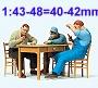 Modellfiguren 1:43-48 - 40-42mm