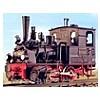 Schmalspur-Lokomotiven + Wagen