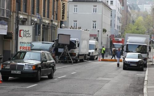SOKO Stuttgart - die Technik rückt an