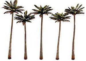 Palmen, ca. 11,5 - 13,5cm hoch, 5 St. - Woodland  | günstig bestellen bei Modelleisenbahn Center  MCS Vertriebs GmbH