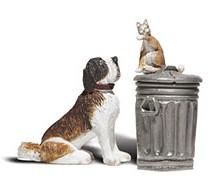 1:22,5 Rover und Felix – Hund und Katze – Woodland  | günstig bestellen bei Modelleisenbahn Center  MCS Vertriebs GmbH