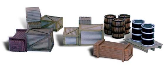 1:45 – 1:50 Ladegut: Kisten, Fässer und Paletten – Woodland  | günstig bestellen bei Modelleisenbahn Center  MCS Vertriebs GmbH
