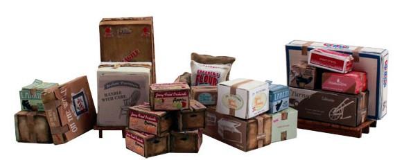 1:45 – 1:50 Ladegut, Kisten und Kartons – Woodland  | günstig bestellen bei Modelleisenbahn Center  MCS Vertriebs GmbH