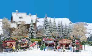 H0 Weihnachtsmarkt - Busch komplettes Set - Inhalt siehe Details | günstig bestellen bei Modelleisenbahn Center  MCS Vertriebs GmbH