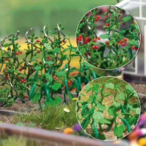 H0 Gurken- und Tomatenpflanzen mit Rankhilfen - Busch  | günstig bestellen bei Modelleisenbahn Center  MCS Vertriebs GmbH