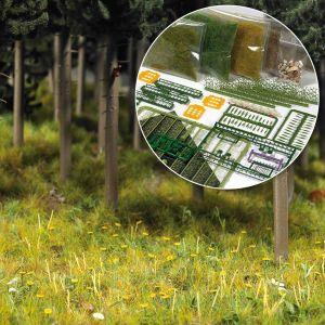 1:87 Starter-Kit Wald & Wiese, Komplett-Set - Busch 6043 Art.Nr.070-6043