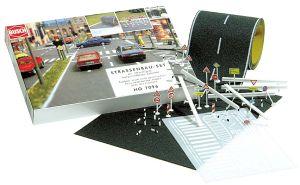 Busch 7096 H0 Straßenbau-Komplett-Set  | günstig bestellen bei Modelleisenbahn Center  MCS Vertriebs GmbH