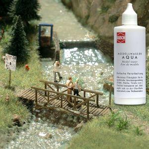 Modellwasser, 125ml - Busch Aqua einfach aus der Flasche verarbeiten | günstig bestellen bei Modelleisenbahn Center  MCS Vertriebs GmbH