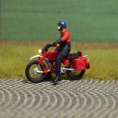 1:87 Hercules Fahrer mit Helm und Kombi, stehend  - Preiser Figur beleuchtet by Bicyc-LED | günstig bestellen bei Modelleisenbahn Center  MCS Vertriebs GmbH