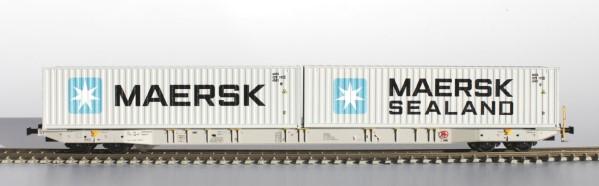 H0 Sggnss 80 Metrans grau + 1 Maersk + 1 Maersk Sealand - IGRA 96010014  | günstig bestellen bei Modelleisenbahn Center  MCS Vertriebs GmbH