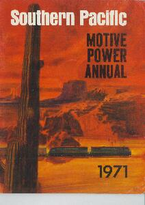 Southern Pacific Motive Power Annual 1971  | günstig bestellen bei Modelleisenbahn Center  MCS Vertriebs GmbH