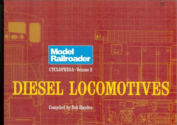 Diesel Locomotives - Model Railroader Cyclopedia vol. 2  | günstig bestellen bei Modelleisenbahn Center  MCS Vertriebs GmbH