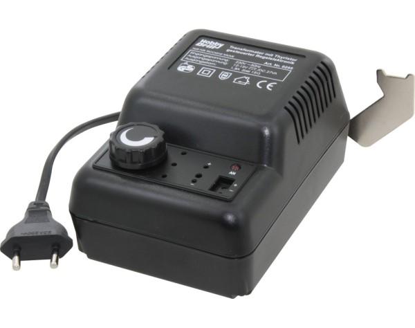 Trafo - stufenlos regelbar 12-15V D.C. mit 1,8A  - Powertrafo für viele Kleinbohrmaschinen | günstig bestellen bei Modelleisenbahn Center  MCS Vertriebs GmbH