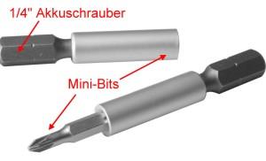 Adapter: Einsatz für handelsübliche Akkuschrauber 1-4  - verwenden Sie Ihren Akkuschrauber für die Modellbahn! | günstig bestellen bei Modelleisenbahn Center  MCS Vertriebs GmbH