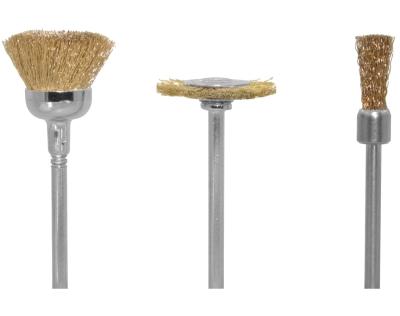 Drahtbürsten Messing mittelhart, je 1 Topf-, Rad- und Pinselform  - für hartnäckige Verschmutzungen | günstig bestellen bei Modelleisenbahn Center  MCS Vertriebs GmbH