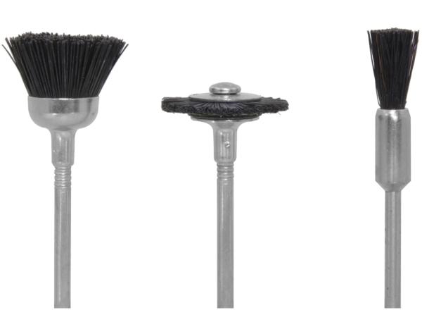 Chungbürsten Kunststoff weich, je 1 Topf-, Rad- und Pinselform  - für hartnäckige Verschmutzungen | günstig bestellen bei Modelleisenbahn Center  MCS Vertriebs GmbH