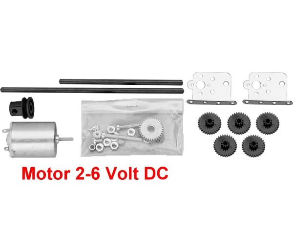 Bastel-Motor Nr.791 - 2-6V DC mit Getriebebausatz  | günstig bestellen bei Modelleisenbahn Center  MCS Vertriebs GmbH