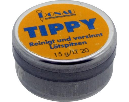 Tippy - Lötspitzenreiniger, Dose mit 15g  - zum Reinigen und Verzinnen von Lötspitzen | günstig bestellen bei Modelleisenbahn Center  MCS Vertriebs GmbH