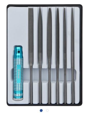 Profiline Nadelfeilen Set 7-tlg. mit Metallgriff   - für viele Arbeiten im Hobbybereich  | günstig bestellen bei Modelleisenbahn Center  MCS Vertriebs GmbH
