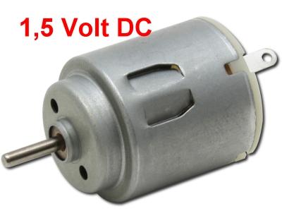 Bastel-Motor Nr.350 -  1,5V DC - Länge 25mm  | günstig bestellen bei Modelleisenbahn Center  MCS Vertriebs GmbH