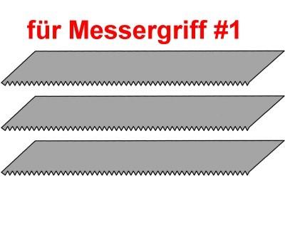 Bastelmesser: Sägeklingen für Bestelmesser Griff no.1, 3 Stück  | günstig bestellen bei Modelleisenbahn Center  MCS Vertriebs GmbH