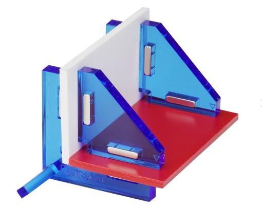 Modellbau Winkelset magnetisch 90° - in der praktischen Aufbewahrungsbox | günstig bestellen bei Modelleisenbahn Center  MCS Vertriebs GmbH