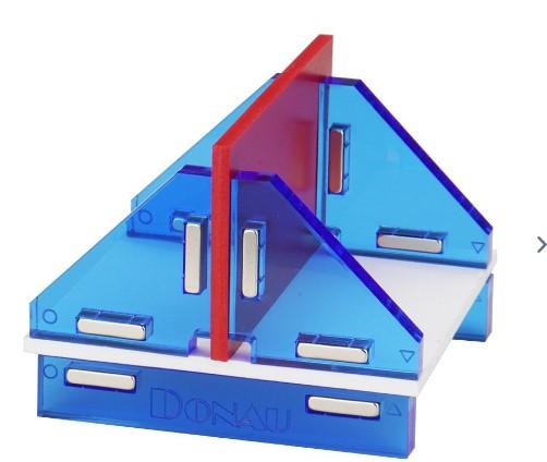 Modellbau Winkelset magnetisch 180° - in der praktischen Aufbewahrungsbox | günstig bestellen bei Modelleisenbahn Center  MCS Vertriebs GmbH