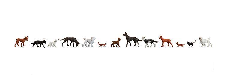 1:160 Hunde und Katzen - Preiser made for Faller 155327  | günstig bestellen bei Modelleisenbahn Center  MCS Vertriebs GmbH