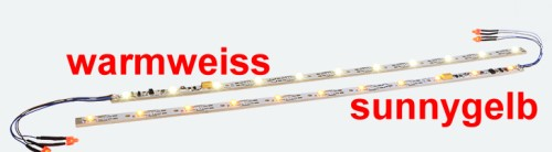 LED Innenbeleuchtung sunny-gelb, L=255mm - ESU  - mit Decoder + Schlusslicht | günstig bestellen bei Modelleisenbahn Center  MCS Vertriebs GmbH