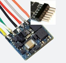 LokPilot Nano mit NEM651 Stecker direkt auf der Platine (6-polig) – ESU 53665  - DCC | günstig bestellen bei Modelleisenbahn Center  MCS Vertriebs GmbH