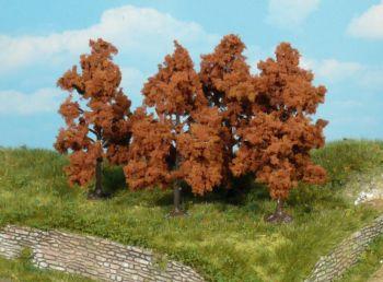 Obstbäume herbstlich 8cm - Heki Meisterprogramm Set mit 4 Stück | günstig bestellen bei Modelleisenbahn Center  MCS Vertriebs GmbH