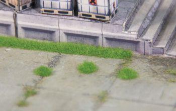 Grasbüschel mittelgrün, 2,5m hoch, 100 Büschel + 5 Streifen - Heki - niedrig für kleine Spurweiten | günstig bestellen bei Modelleisenbahn Center  MCS Vertriebs GmbH