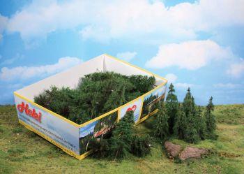 Tannen 7-14cm, 40 Stück - Heki Super Artline  - super realistische Beflockung! | günstig bestellen bei Modelleisenbahn Center  MCS Vertriebs GmbH
