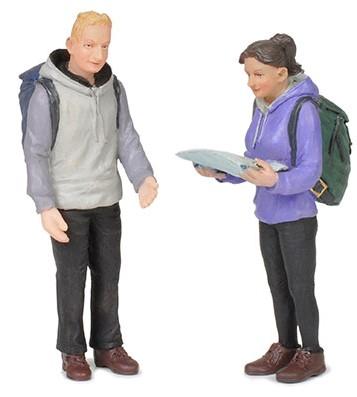1:22,5 Pärchen auf Wanderschaft – Scenecraft Figures  | günstig bestellen bei Modelleisenbahn Center  MCS Vertriebs GmbH