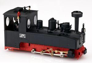 Brigadelok 0-8-0 schwarz mit Kobelschornstein - Minitrains 1021  | günstig bestellen bei Modelleisenbahn Center  MCS Vertriebs GmbH