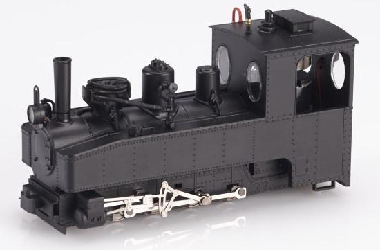Brigadelok 0-8-0 schwarz mit geradem Schornstein - Minitrains 1024  | günstig bestellen bei Modelleisenbahn Center  MCS Vertriebs GmbH