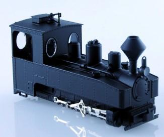 Brigadelok 0-8-0 schwarz mit Diamond-Stack - Minitrains 1027  | günstig bestellen bei Modelleisenbahn Center  MCS Vertriebs GmbH