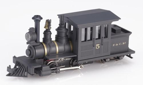 Forney Dampflok schwarz F&C Nr.5 - Minitrains 1032  | günstig bestellen bei Modelleisenbahn Center  MCS Vertriebs GmbH