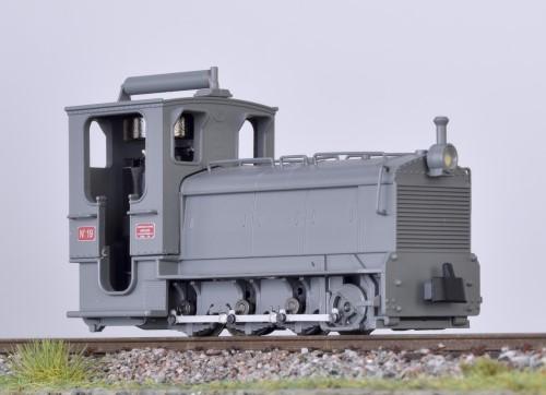 Schneider Locotracteur Diesellok grau - Minitrains 1051  | günstig bestellen bei Modelleisenbahn Center  MCS Vertriebs GmbH