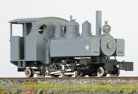 Baldwin 2-6-2 grau mit geschlossen Führerhaus und grauer Rauchkammertüre – Minitrains  | günstig bestellen bei Modelleisenbahn Center  MCS Vertriebs GmbH