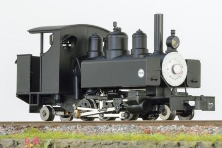 Baldwin 2-6-2 schwarz mit offenem Führerhaus und silberner Rauchkammertüre – Minitrains  | günstig bestellen bei Modelleisenbahn Center  MCS Vertriebs GmbH